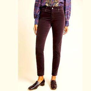 New Anthropologie AG Velvet High-Rise Jeans Size26